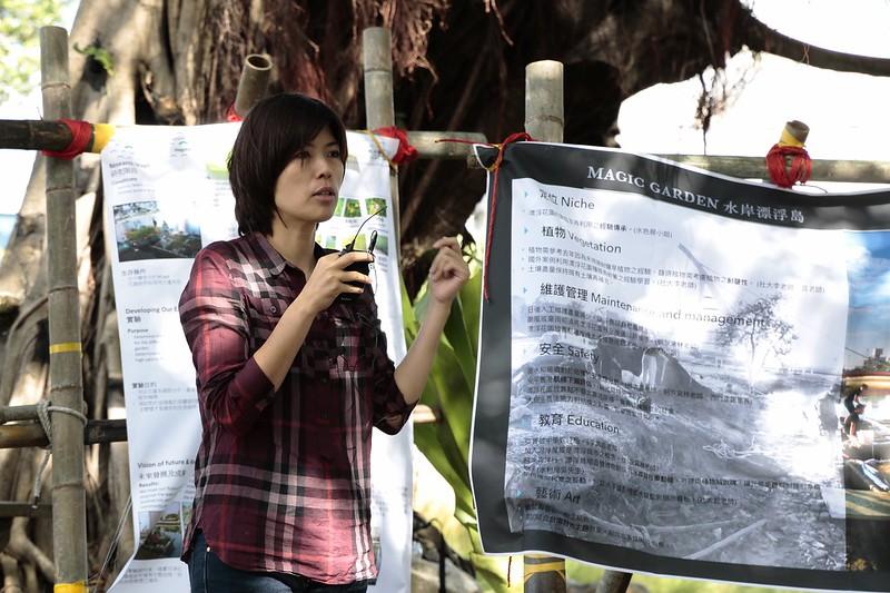 成大教授王筱雯主持成果發表會。圖片來源:成大王筱雯研究室提供