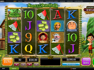 Bounty of the Beanstalk slot game online review
