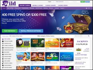 Wild Jackpots Casino Home