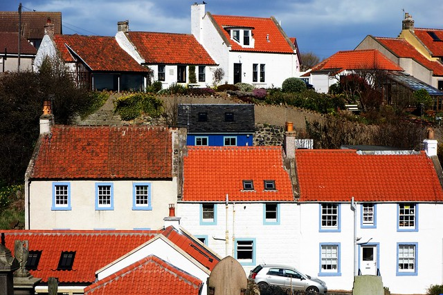St Monans houses, Fife, Scotland