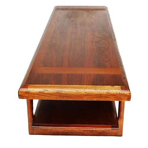 Mid Century Modern Lane Two-Tier Coffee Table This