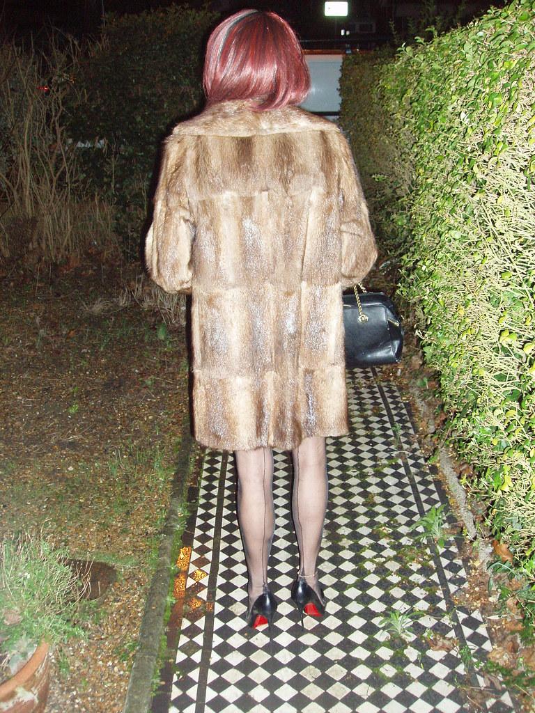White Stiletto Heels Pleasure in fur | Wear...
