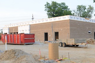 New restaurant being constructed