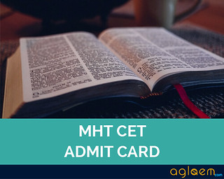 MHT CET / MH CET Admit Card 2016 - Download Here