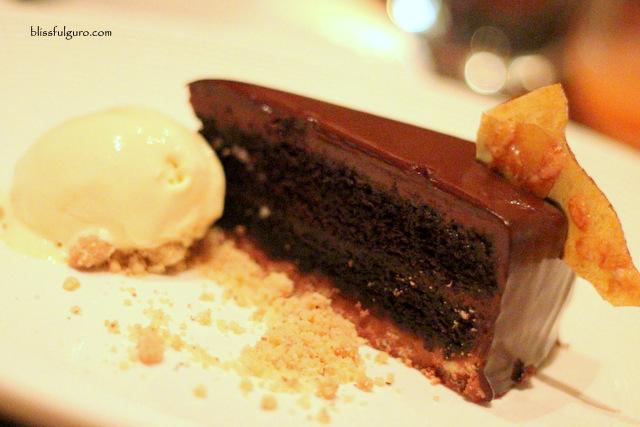 Cafe Causette Crispy Chocolate Devil Cake