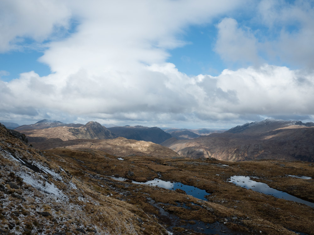 At the foot of Creag Ghlas