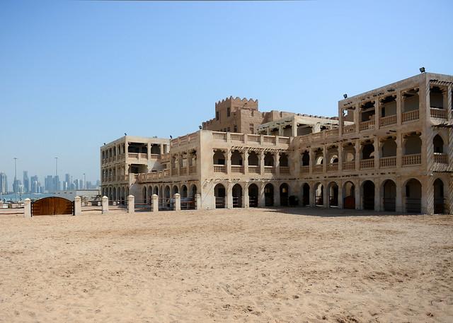 Las cuadras de caballos, una de las mejores cosas que ver en Doha
