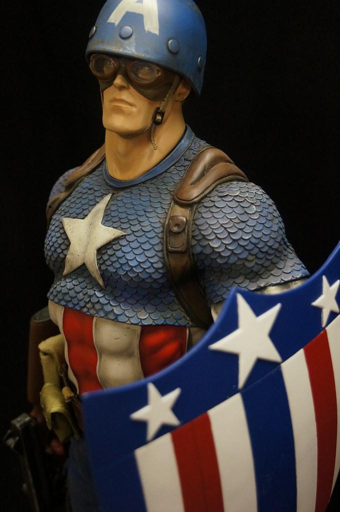 Custom Captain America Premium Format  24657376009_8e15ceb40b_b