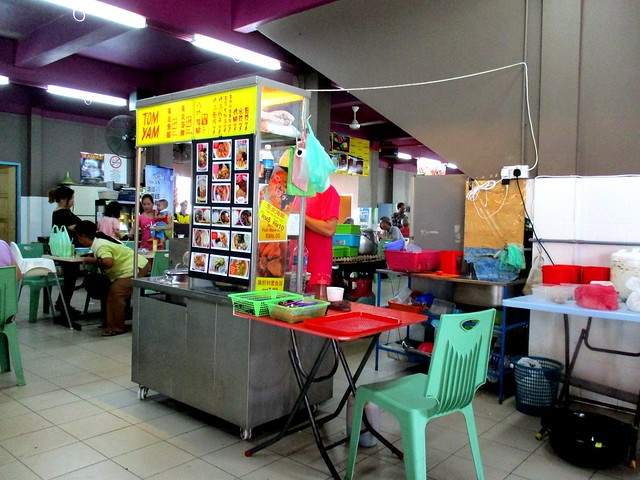 Bateras Food Court mee sua stall