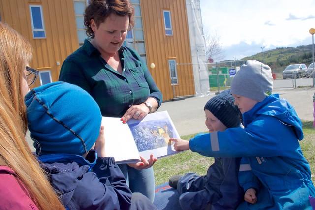 – Språkløyper er eit kjempebra verktøy å bruka i barnehagen