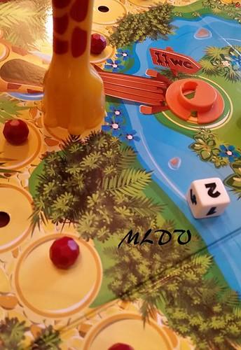 jeu de société Giraf'fun déplacement