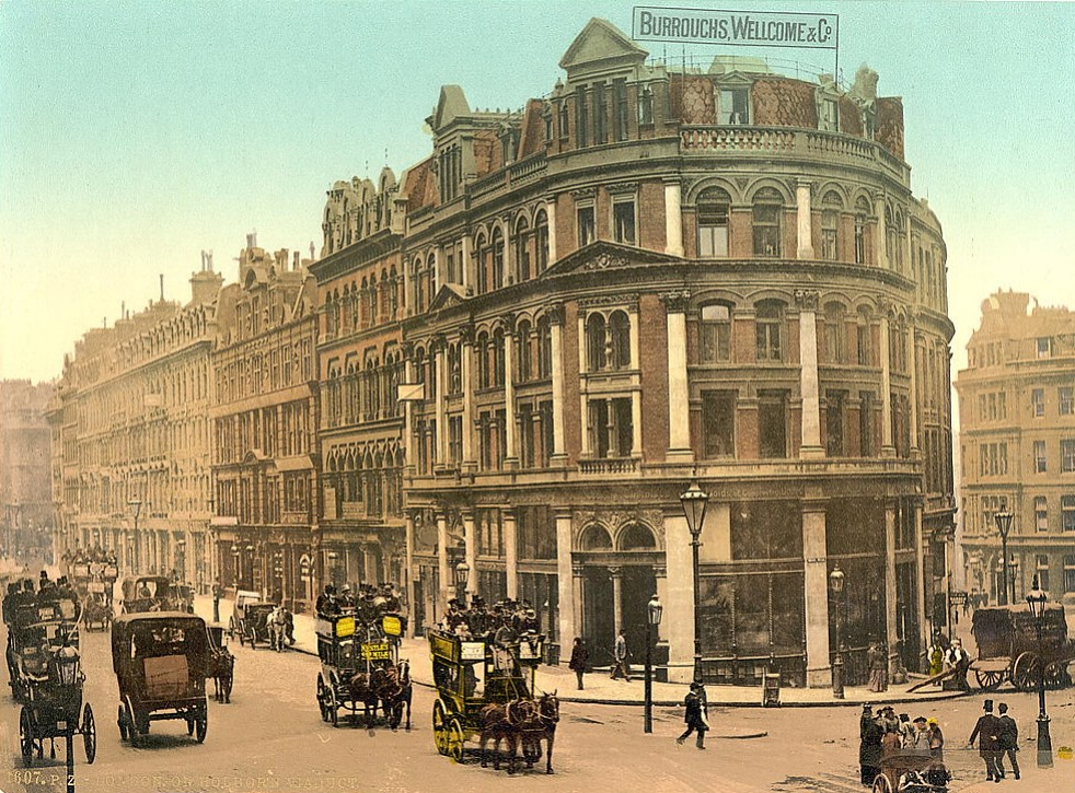 Burroughs Wellcome & Co. Headquarters, Holborn Viaduct, London