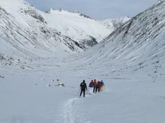 Schneeschuhwandern im Windbachtal
