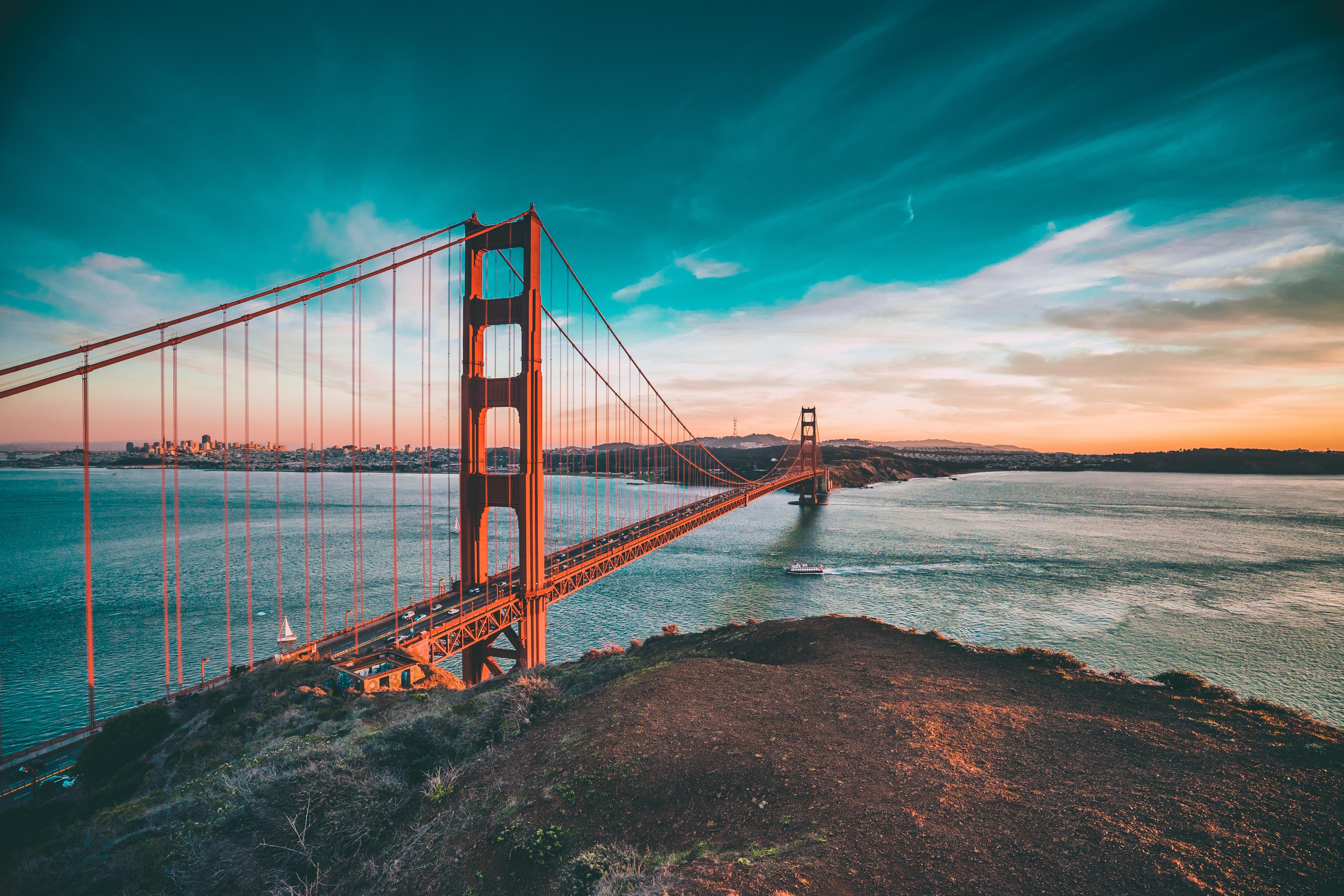 San Francisco Headlands And Golden Gate Bridge Fancycrave