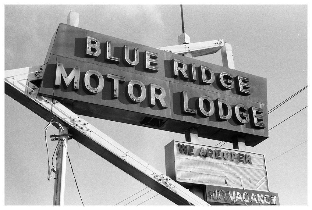 Blue Ridge Motor Lodge Sign Asheville Asheville Nc
