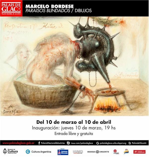 Marcelo Bordese // Paraísos Blindados / Palais de Glace