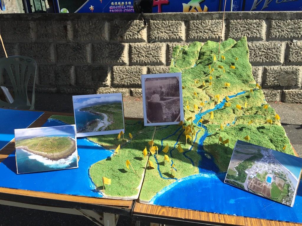 比西里岸部落地圖