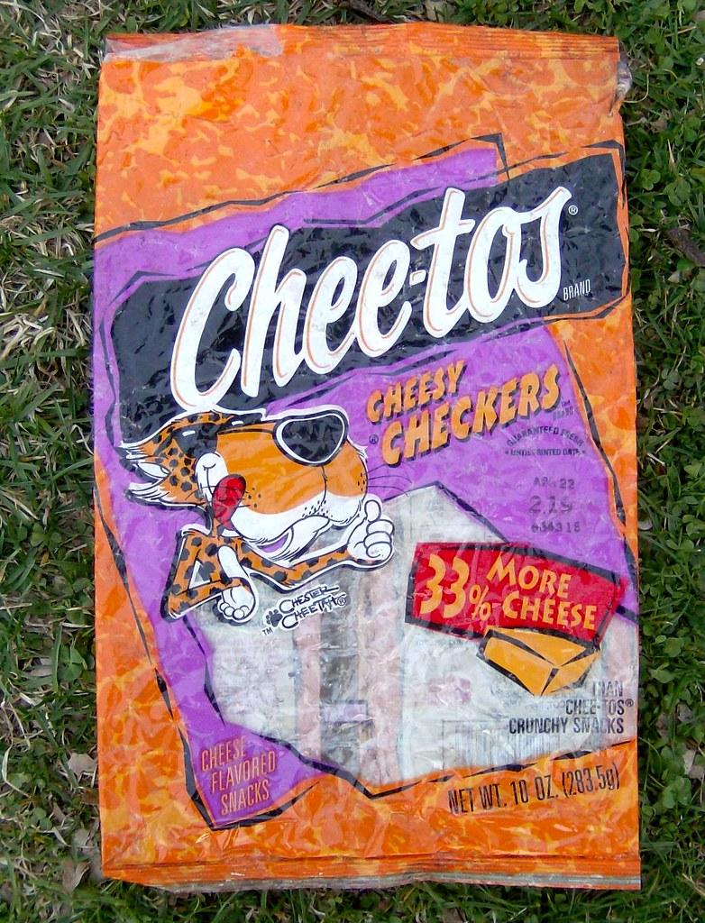 cheetos cheesy checkers bag 199598 i was looking