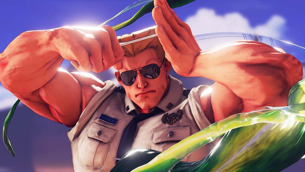 STREET FIGHTER V Guile joins as the second additional character!