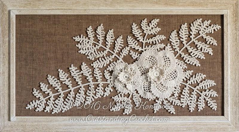 Outstanding Crochet Irish Crochet Motifs Pattern Poppy Flower And