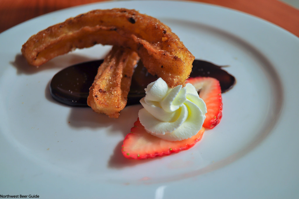 one last look at Foie Churros