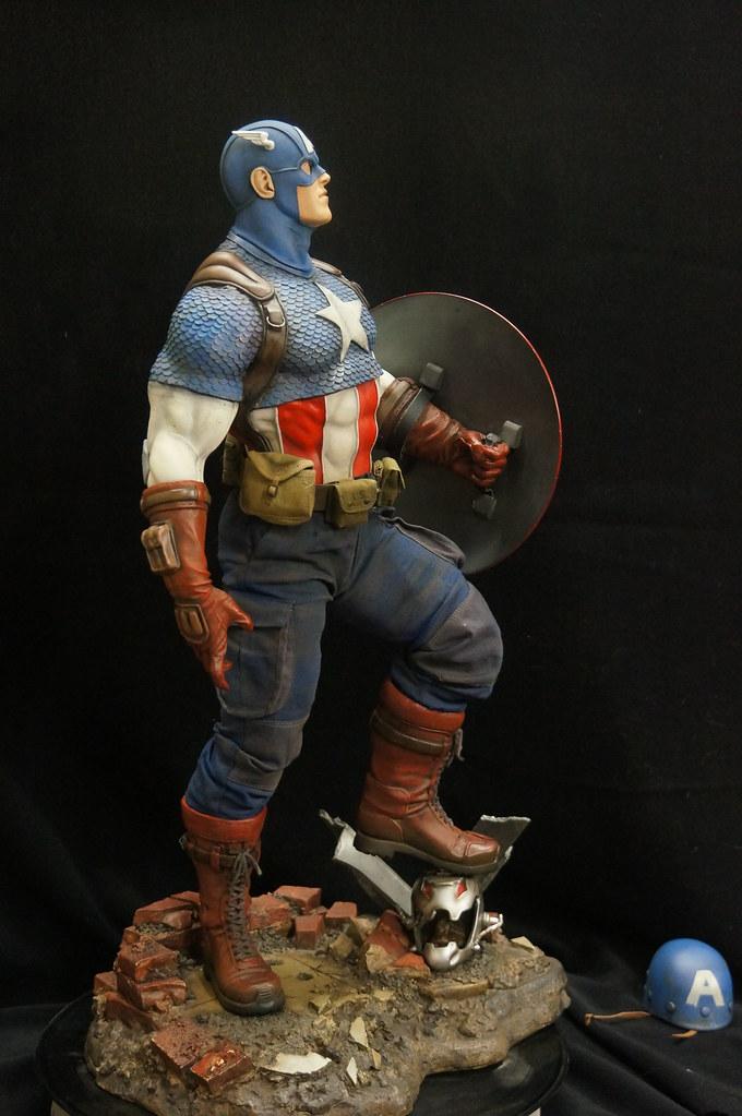 Custom Captain America Premium Format  25416077342_6670d10e3b_b