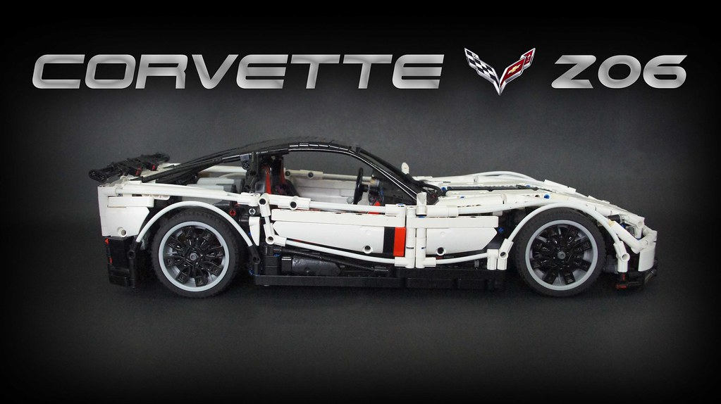 Rc Chevrolet Corvette Z06 Moc Lego Technic And Model