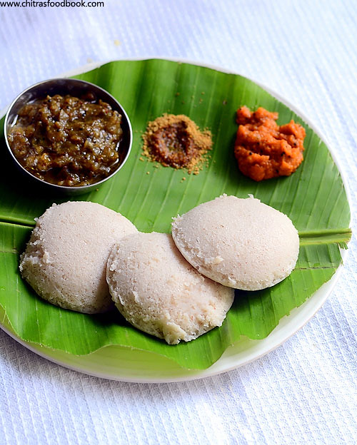 Red rice idli,dosa