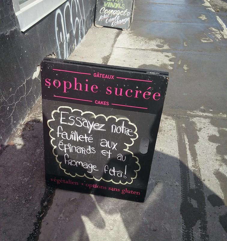 Sophie Sucree - Essayez notre feuilleté aux epinards et au fromage feta
