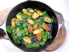 Sauteed new potatoes