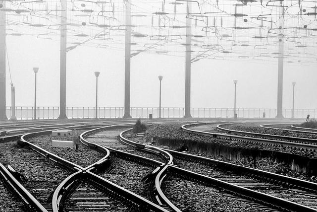 Fotografia em palavras: Caminhos de Ferro