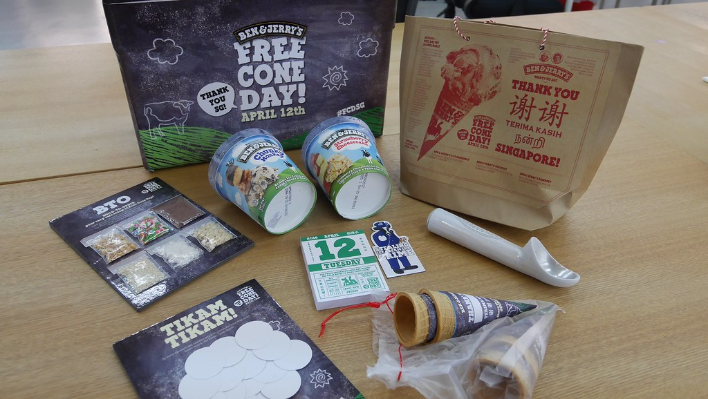 Ben & Jerry's 10th Free Cone Day is next Tuesday! - Alvinology