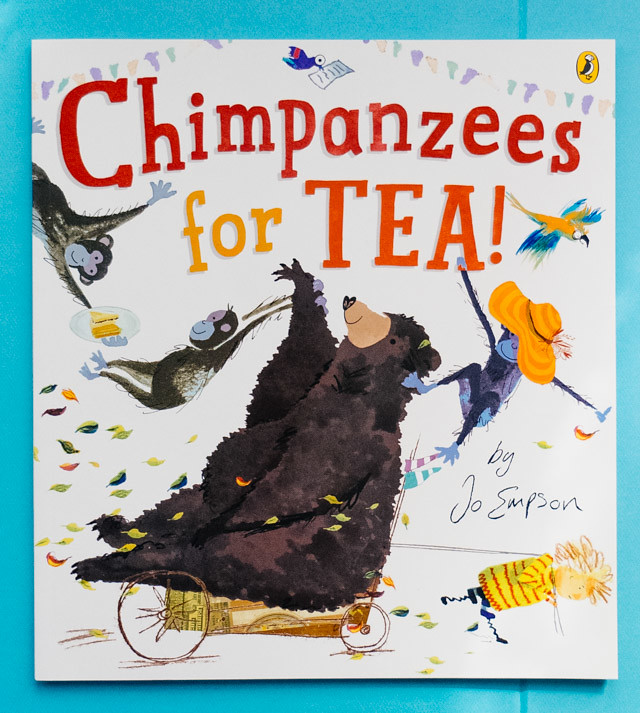 chimpanzees for tea - book review » cardboardcities - creative lifestyle blog