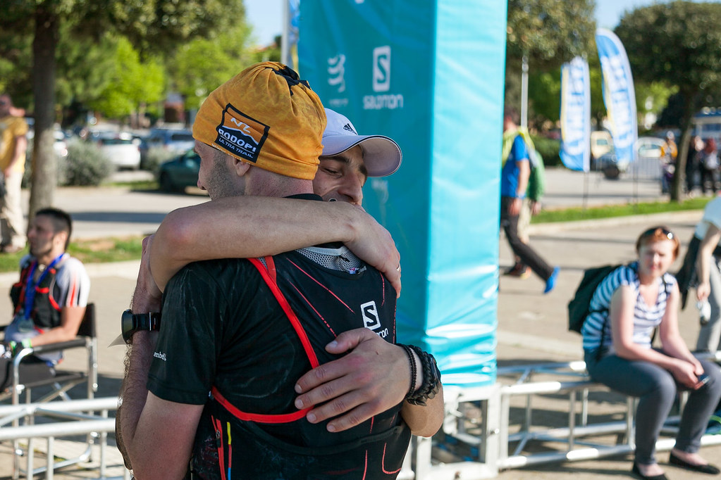 """The finish line was only 20 kilometers far from me! And then I met Jakub  Hajek from Czech Republic. He was a member of our """"Rodopi Ultra Trail""""  family and a ... e66063f89fa"""