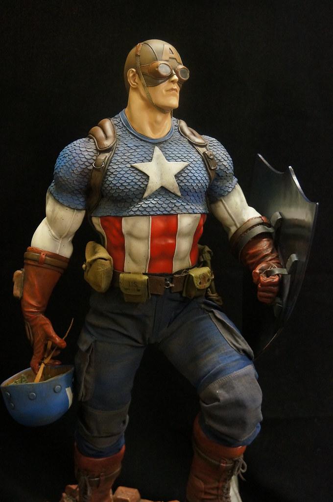 Custom Captain America Premium Format  25238982220_e8e4d96c6c_b