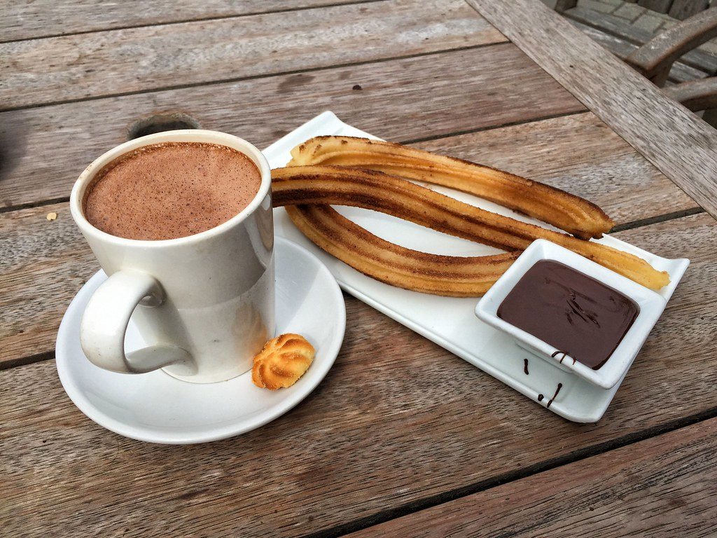 Patagonia Churros and Hot Chocolate