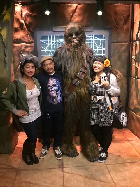 le fancy geek her universe hot topic bb-8 jacket star wars chewbacca chewie wookiee disneyland season of the force geek fashion