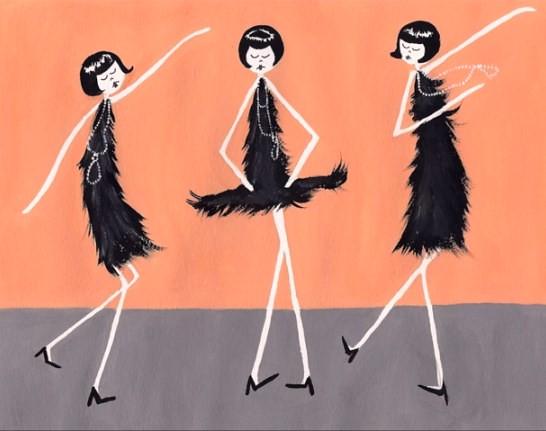 чарльстон танец