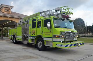 Palm Beach Gardens Fire Rescue Ladder 65 Flickr Photo Sharing
