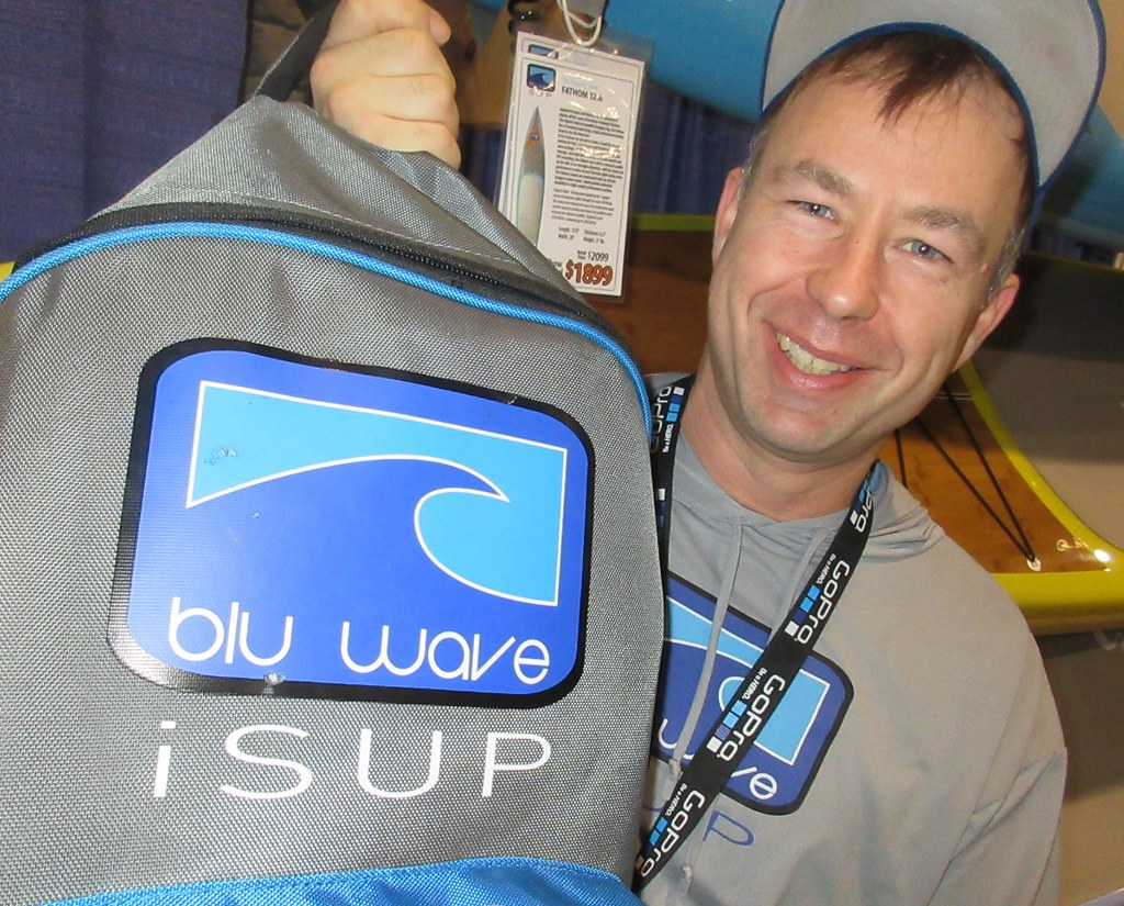 Blu Wave - SUP Canada at the Outdoor Adventure Show