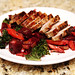 Pork Chops with Warm Beet and Carrot Salad