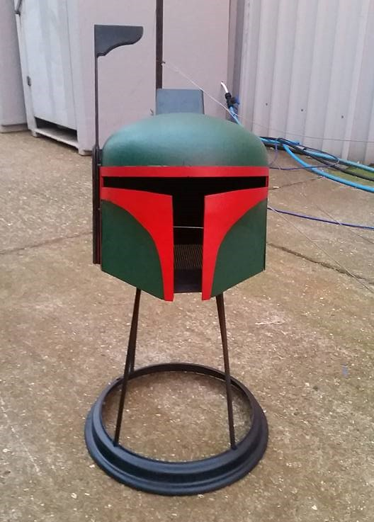 Star Wars Boba Fett burner by BC Bespoked