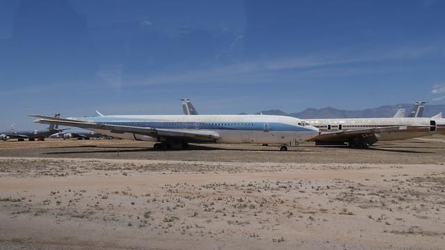 Boeing 707 schwanzlos
