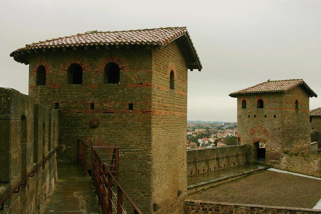 Gallo-Roman Towers of Carcassonne. Photo José Luiz