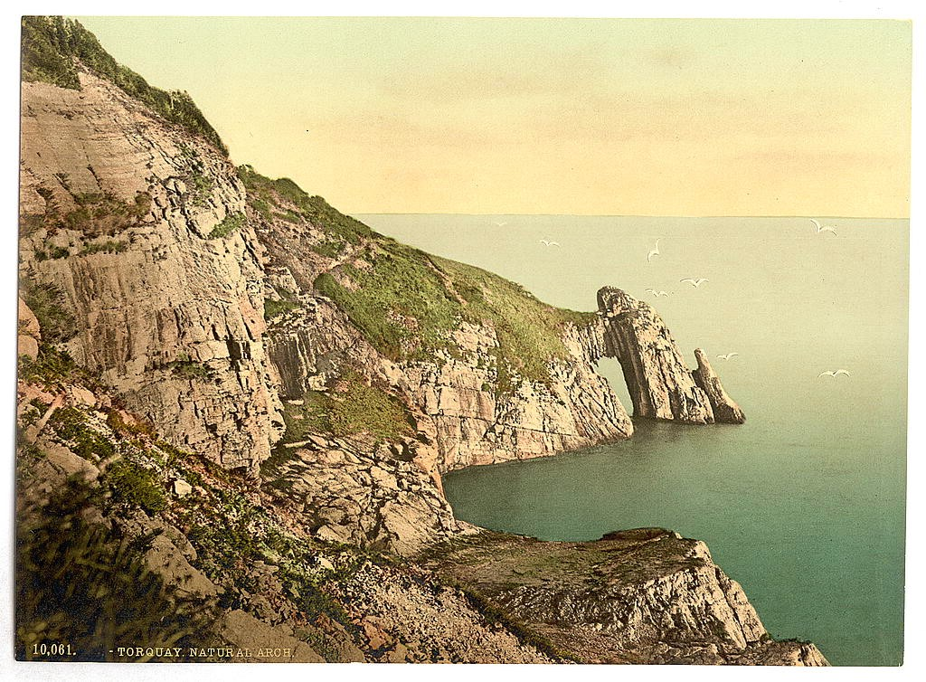 Natural Arch, Torquay, Devon