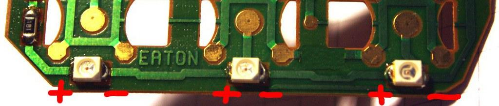 opel podświetlenie led diody