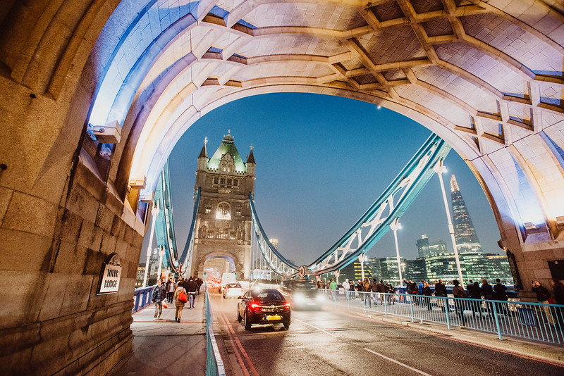 London photographed by Will Strange. This is Tower Bridge, not London Bridge.