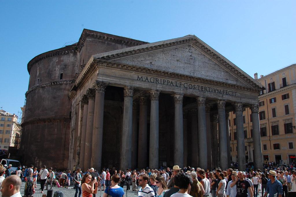 Pante?n de Agrippa en Roma