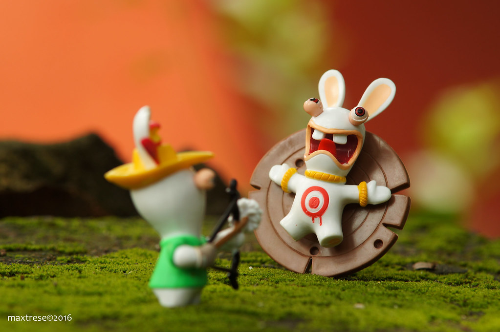 Raving Rabbids Sport Archery