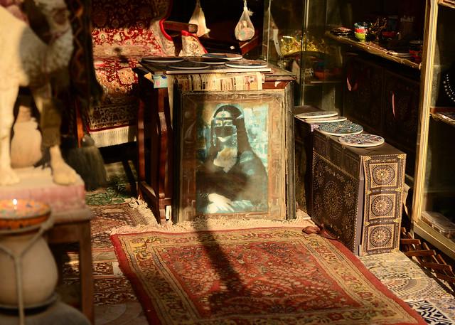 La Mona Lisa con velo